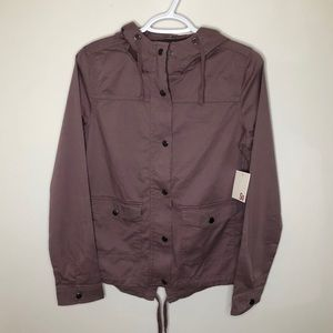 SO utility jacket from kohl's pink